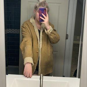 Maxfield Parrish sheepskin coat